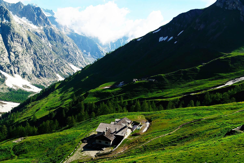 Refuge Bonatti - Mont Blanc